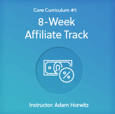 The 8-week Affiliate Track included in ClickBank University