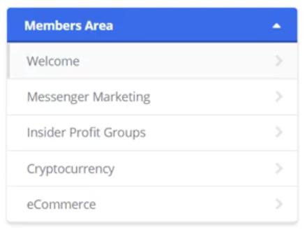 Members Area of Insider Profit Groups