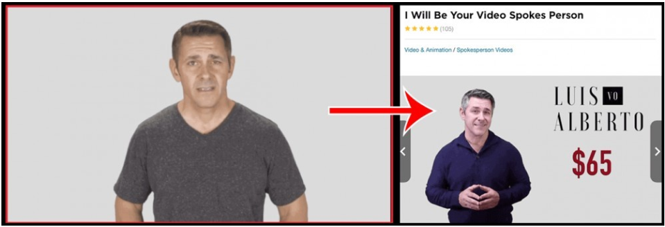 Hired actor for fake testimonials of the CB Cash Code Scam