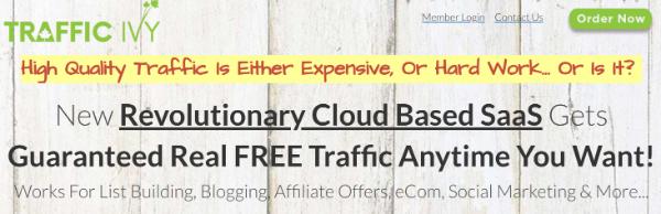 Traffic Ivy promises real FREE traffic