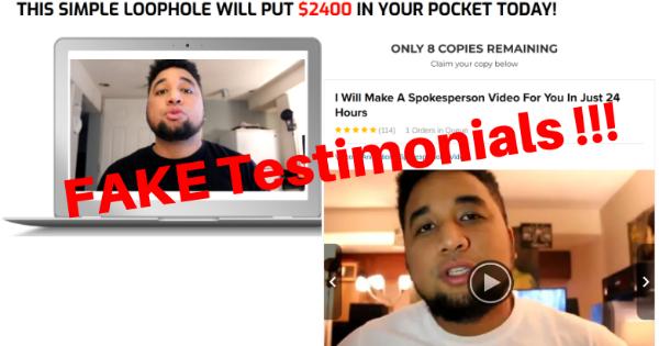 Fake testimonials of Daily Profits