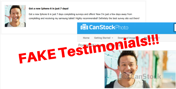 Fake Testimonials of Gold Opinions
