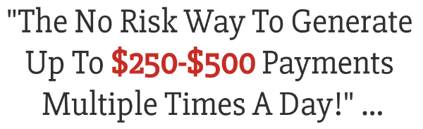 The Six Figure Success Academy claims to make you $500 multiple times a day.