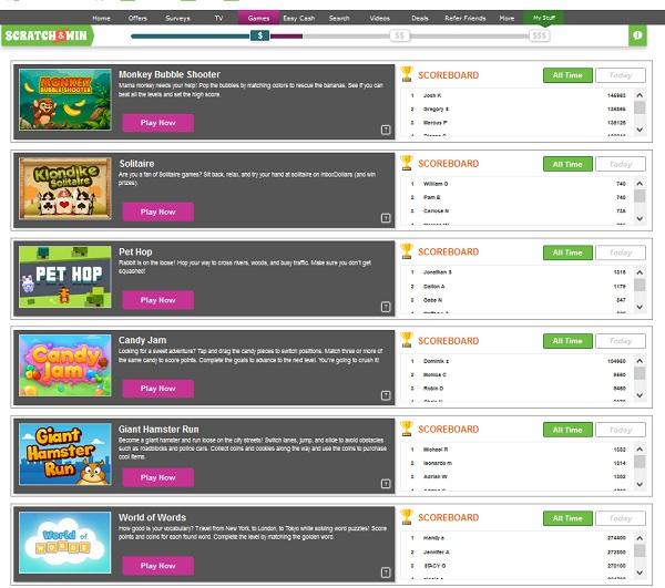 Inboxdollars Online Games