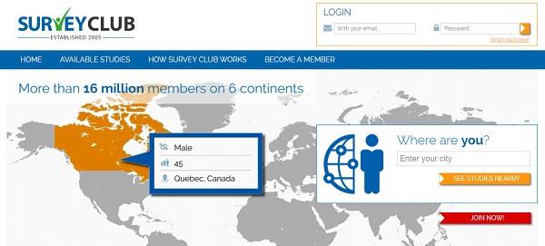 Is Survey Club Scam? - Is It A Legit Online Paid Survey 2019 Review - website