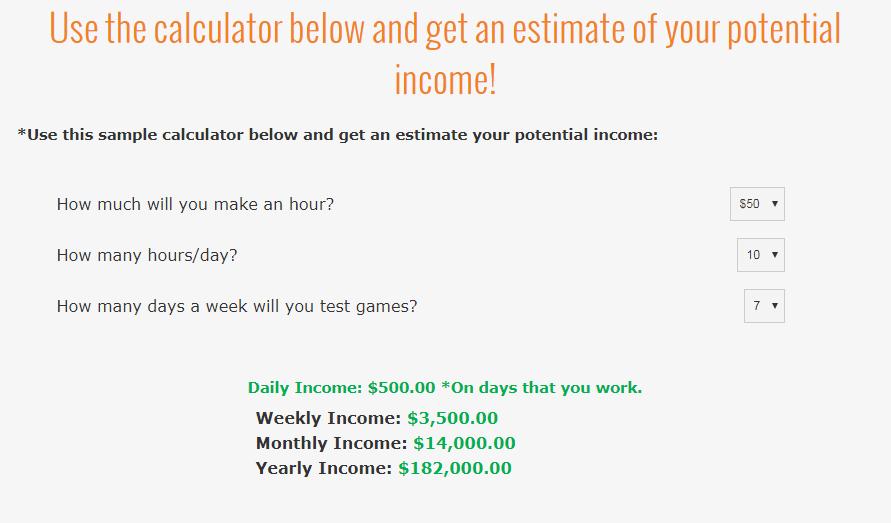 Gaming Jobs Online A Scam calculator