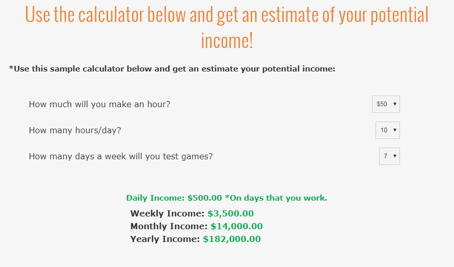 Gaming Jobs Online A Scam calculator