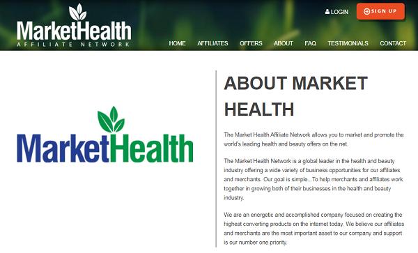 Market Health Review website