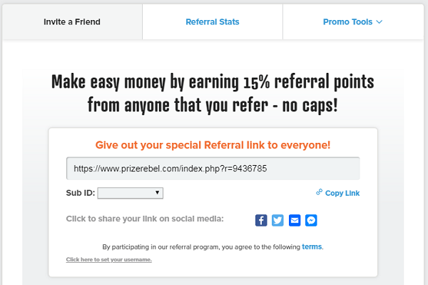 Is Prizerebel Scam referrals