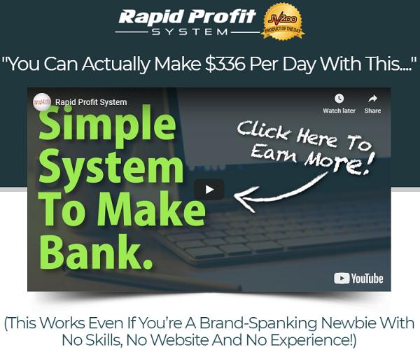 Rapid Profit System Scam website
