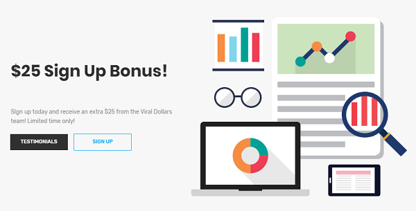 Referral Pay Scam $25 sign up bonus
