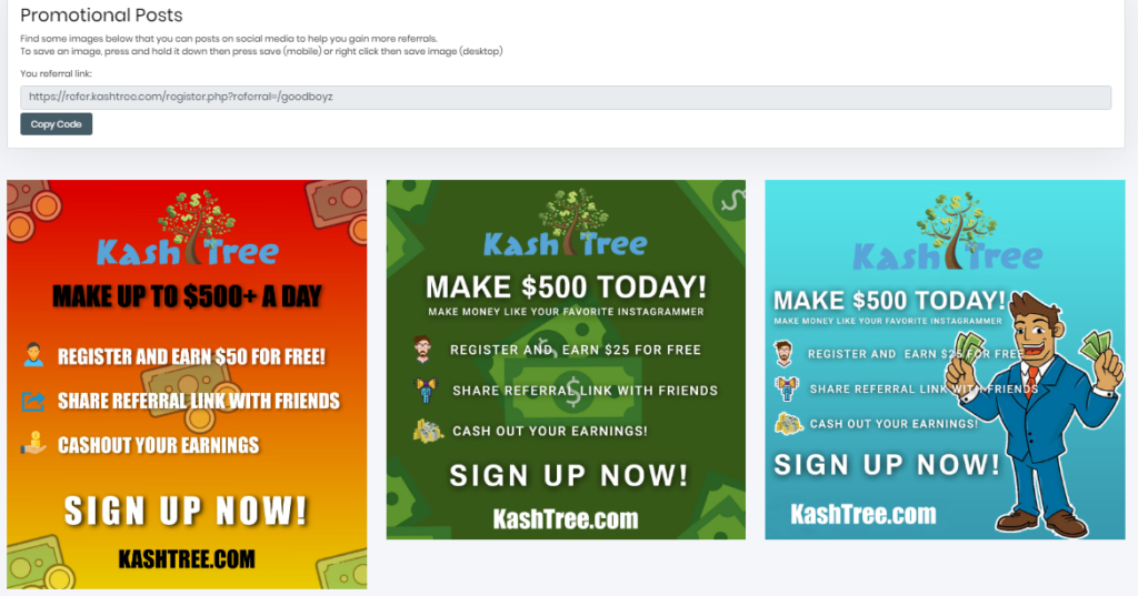 Is Kashtree A Scam promotional post