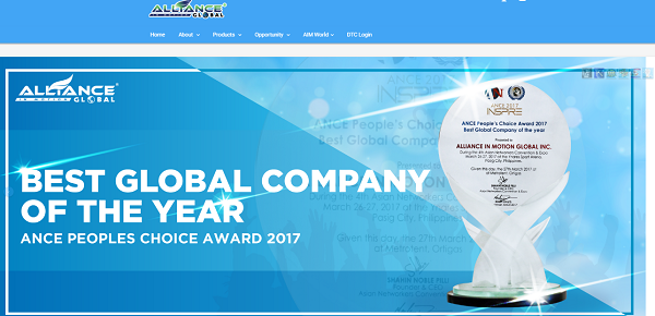 Is Aim Global A Scam?  website