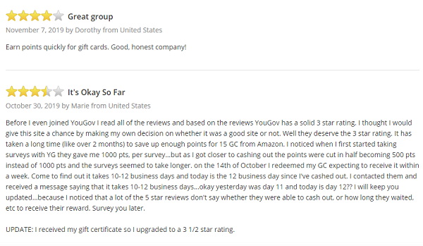 Is YouGov Scam Surveypolice Customer reviews