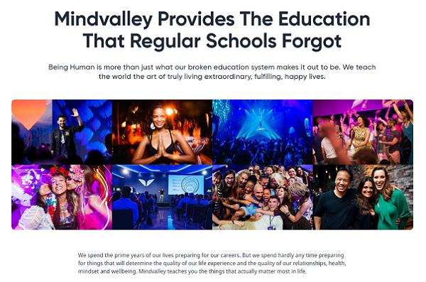 Is Mindvalley Scam? website