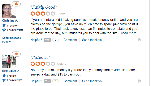 Is Paidviewpoint Scam? customer reviews