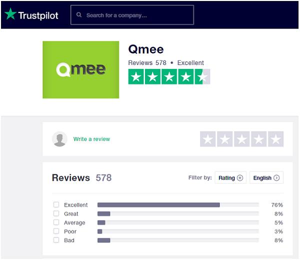 Is Qmee Scam? trustpilot review