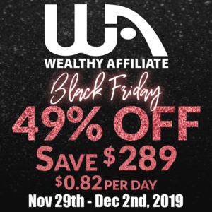 Black Friday sale WA