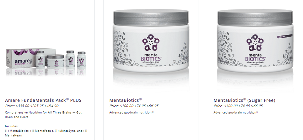Is Amare Global Scam? products