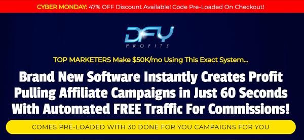 DFY Profitz Review - website