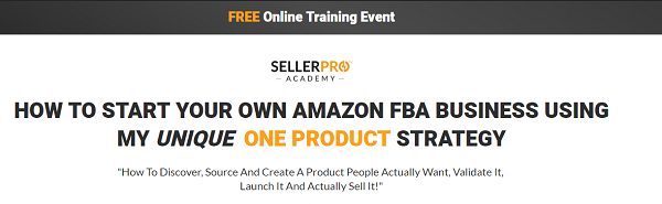 Seller Pro Academy Review - website