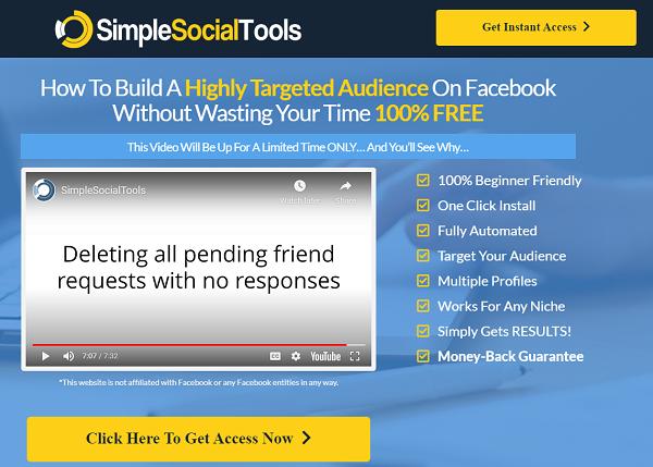Simple Social Tools Review - website