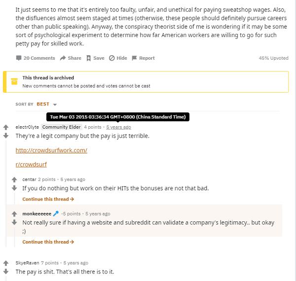 Crowdsurf Transcription Review - Reddit