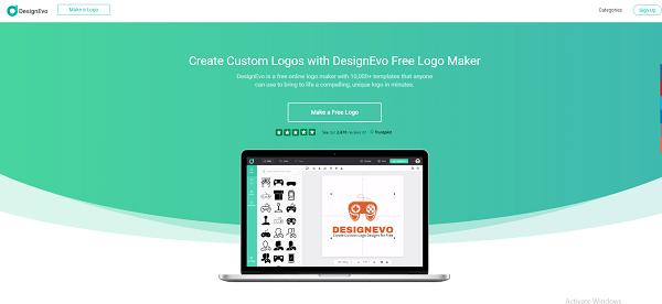 What Is Designevo.com? website