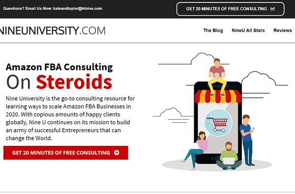 Nine University Scam? website