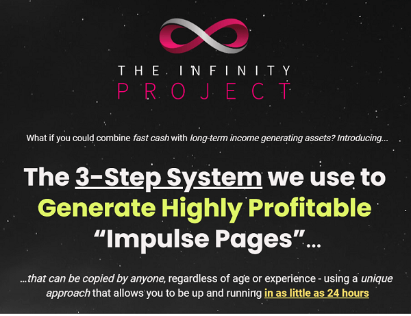 What Is The Infinity Project - webiste