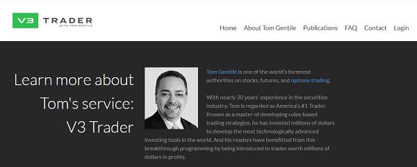 V3 Trader Scam - website