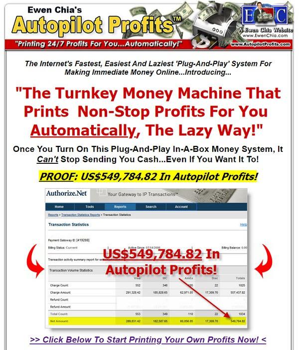 What Is Autopilot Profits - website