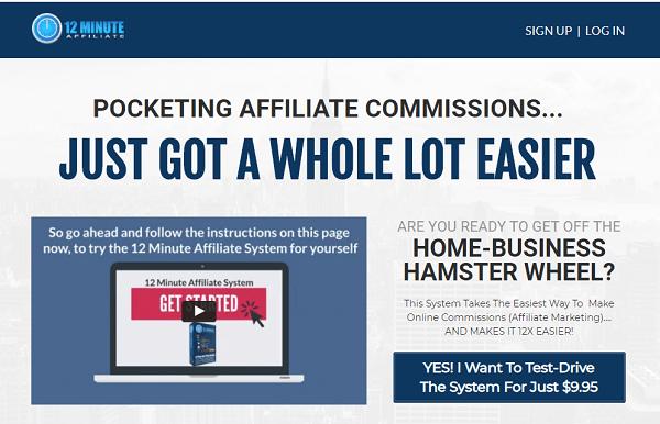 12 Minute Affiliate Scam? website