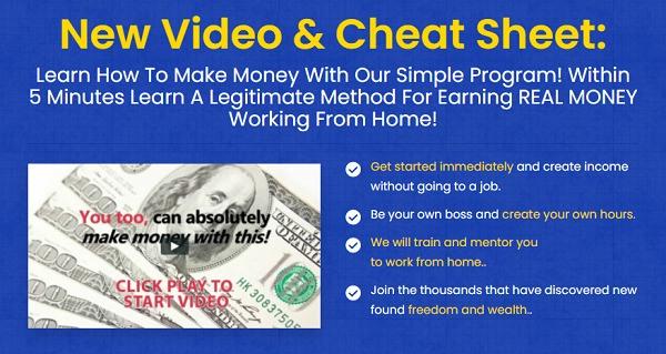 Second Income Center Scam?  website