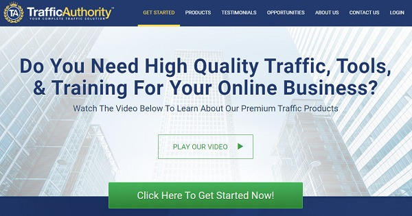 Is Traffic Authority Scam? website