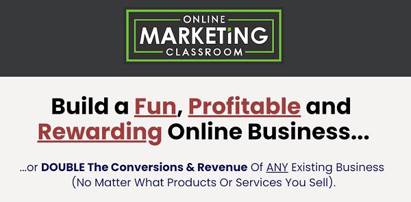 Online Marketing Classroom Review - website