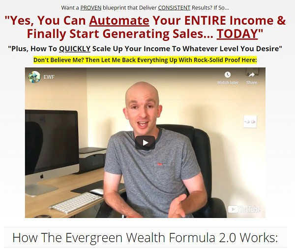 What Is Evergreen Wealth Formula? website